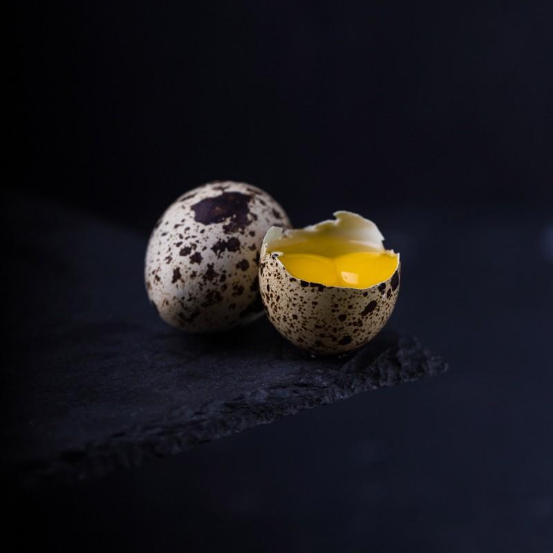 Яйца перепелиные 1 ящик - 100 шт