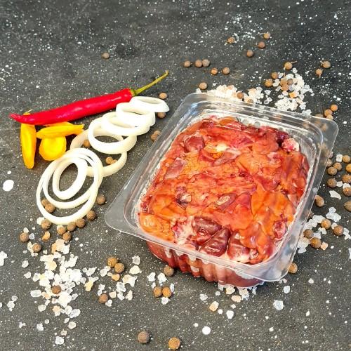 Субпродукты перепелиные - печень и сердце (сухая заморозка) 0.5 кг