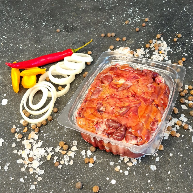 Субпродукты перепелиные - печень и сердце сухая заморозка 0.5 кг
